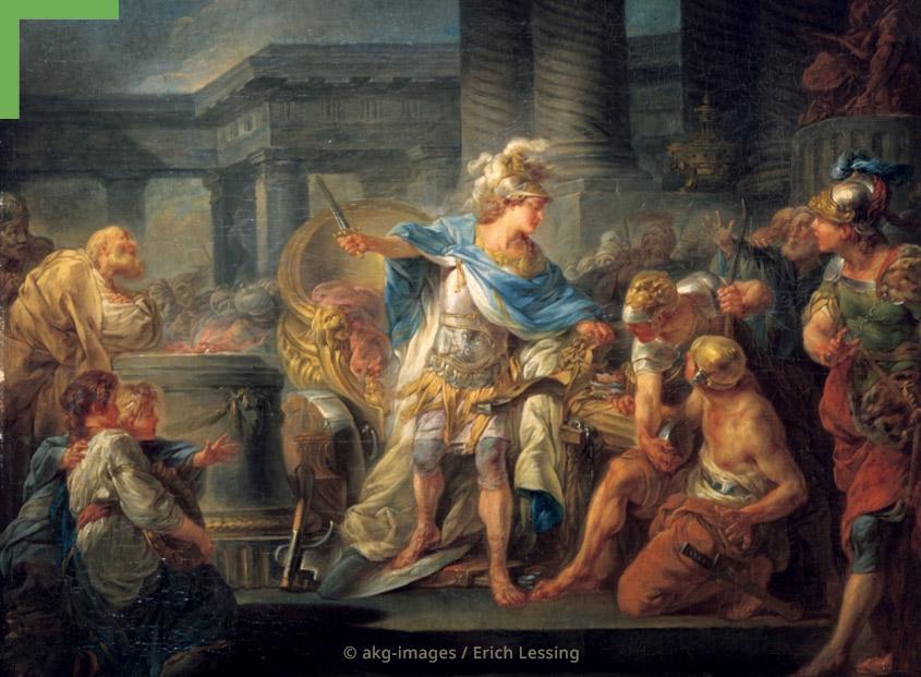 Kunstwerk: Alexander der Große
