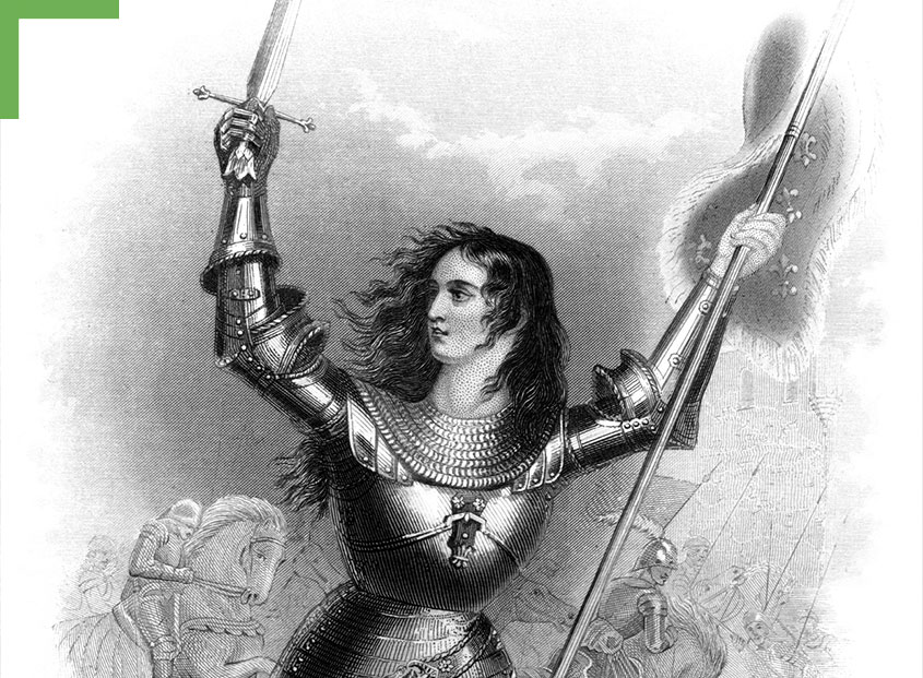 Kunstwerk: Jeanne d'Arc